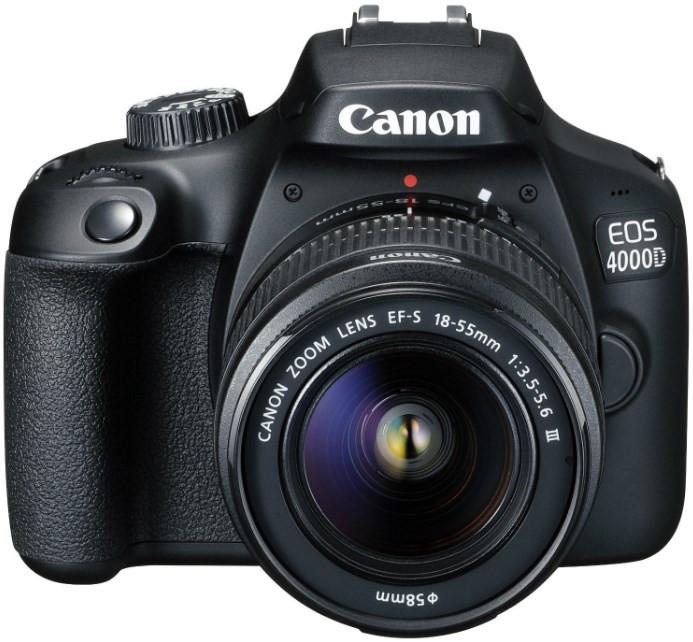 Canon EOS 4000D Kit (EF-S 18-55mm f/3.5-5.6 IS II)