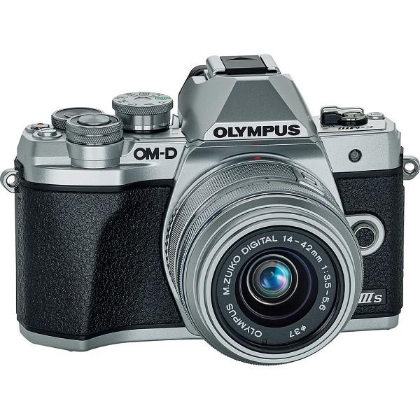 Olympus OM-D E-M10 MK 3S (14-42 EZ) Silver