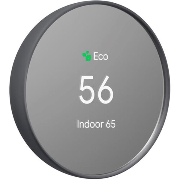 Google Nest Thermostat Charcoal